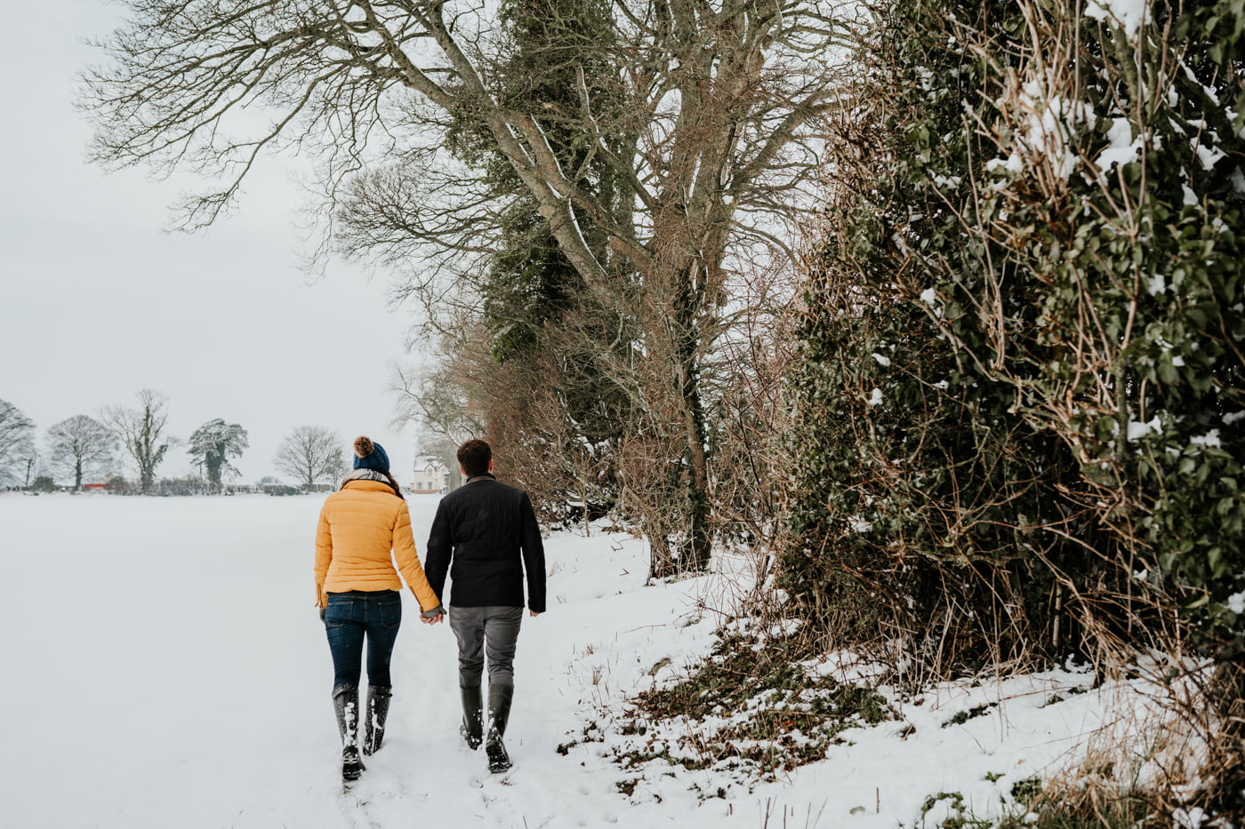 Sophie and Rob, Snow Engagement Shoot 6