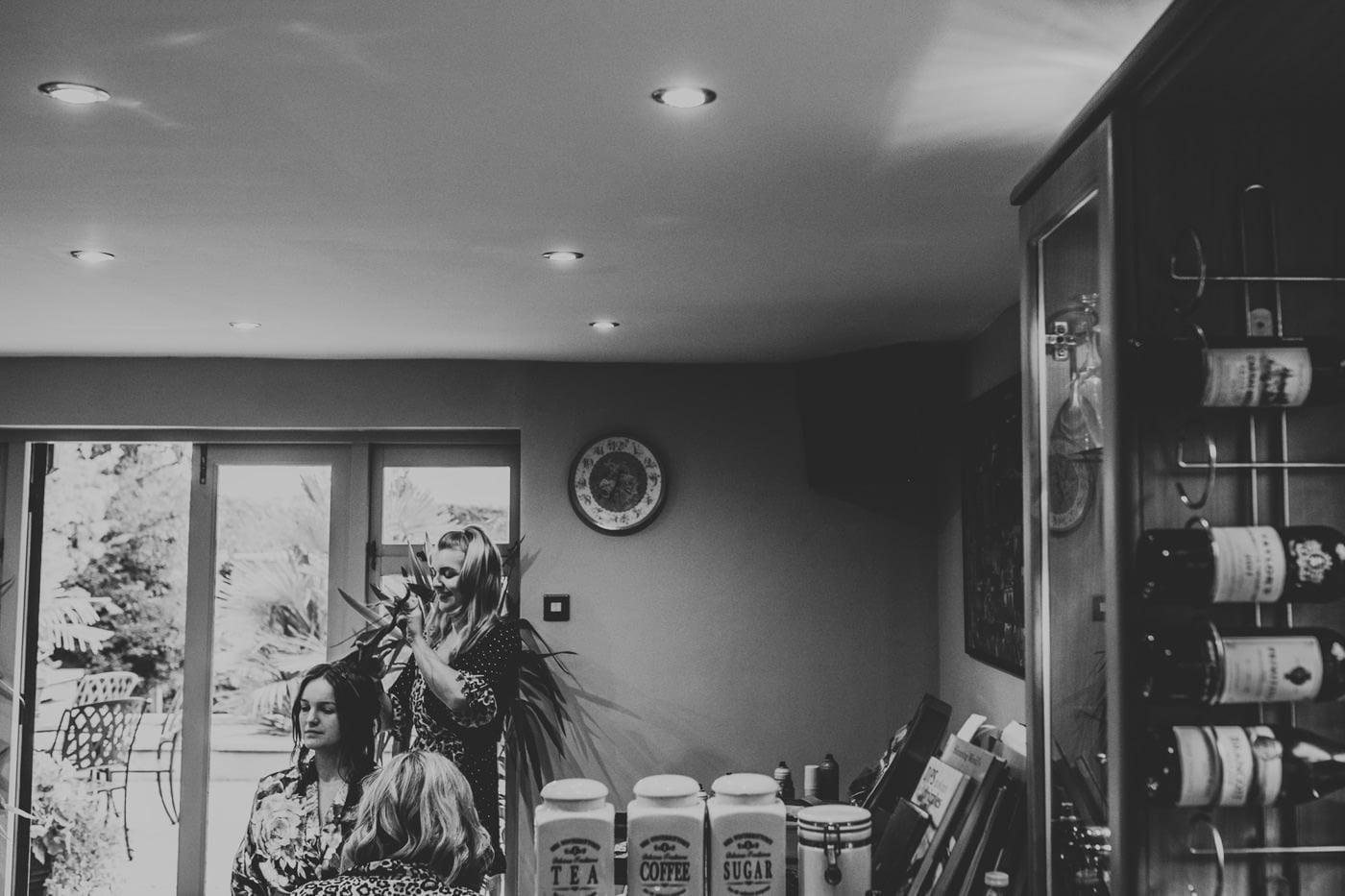 Ella and Jon, Bishopstrow Hotel, Wiltshire 7