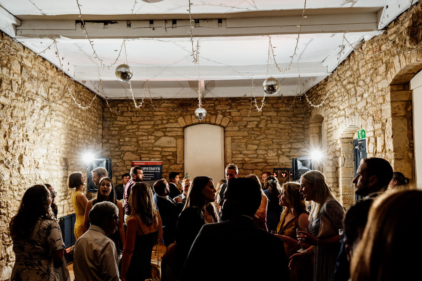 dance floor at Brympton house