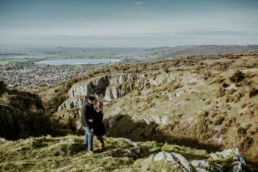 cheddar gorge engagement shoot