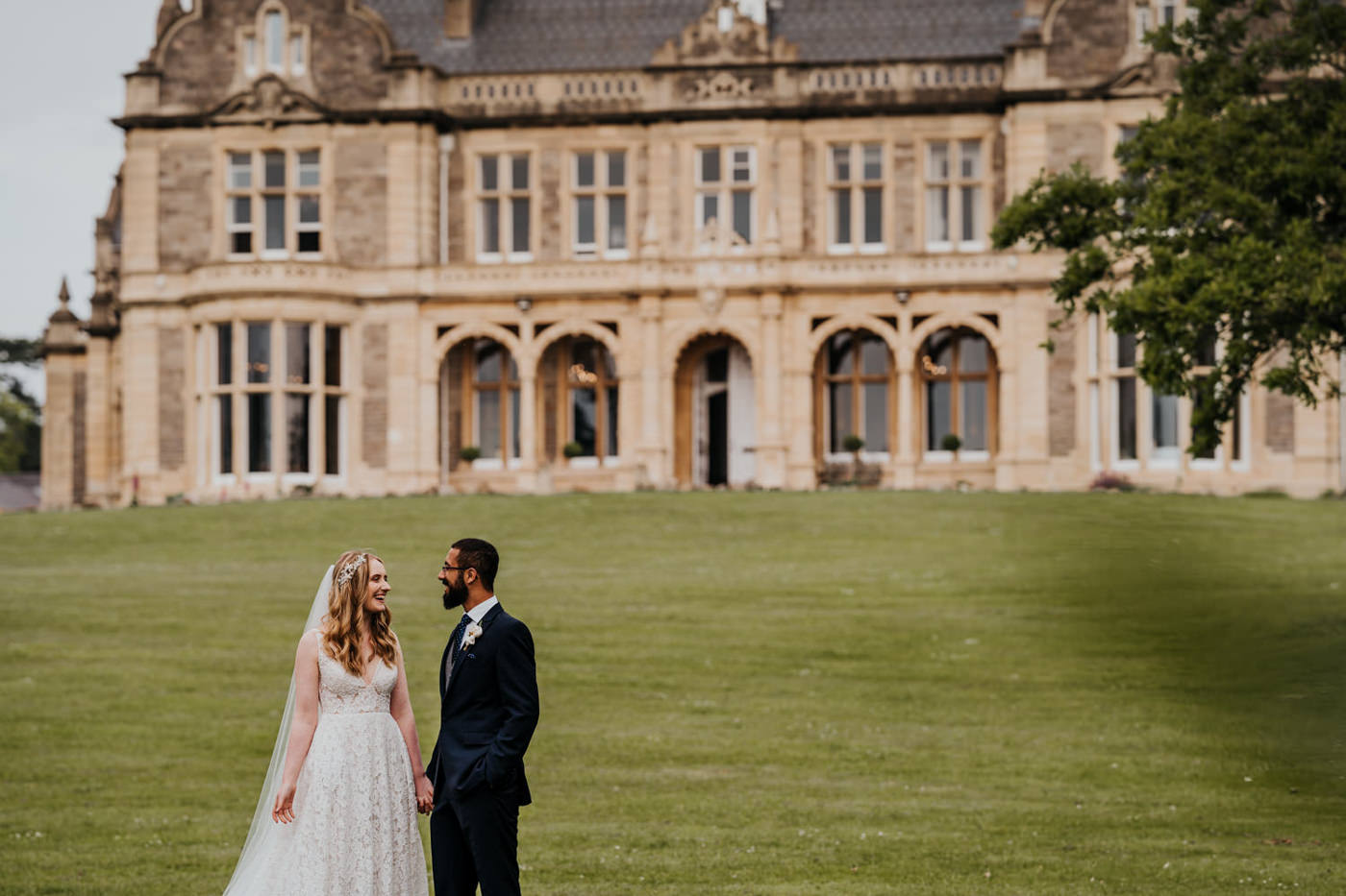 Sophie and Shayan, Clevedon Hall, Bristol 1