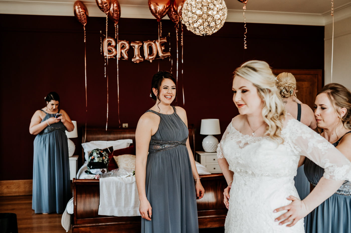 Amy and Rich, Coombe Lodge, Bristol 6