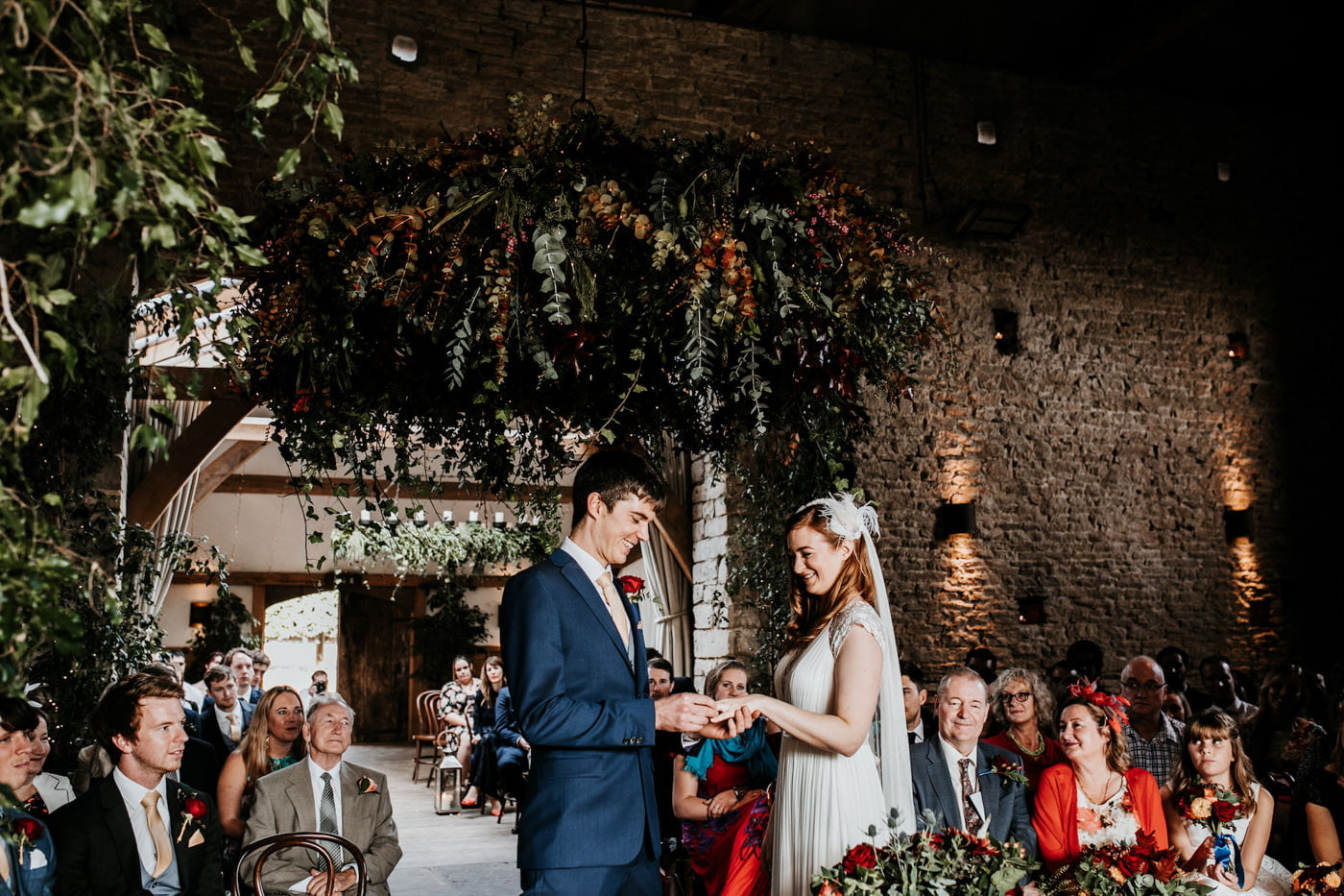 Amelia and Dave, Cripps Barn, Cotswolds 96