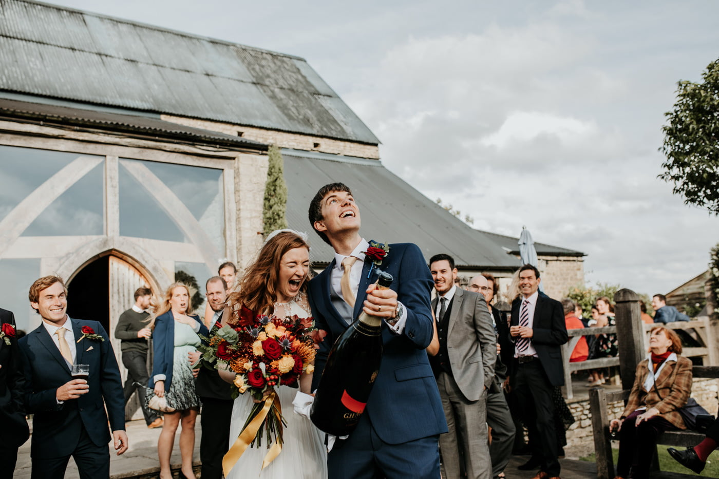 Amelia and Dave, Cripps Barn, Cotswolds 2