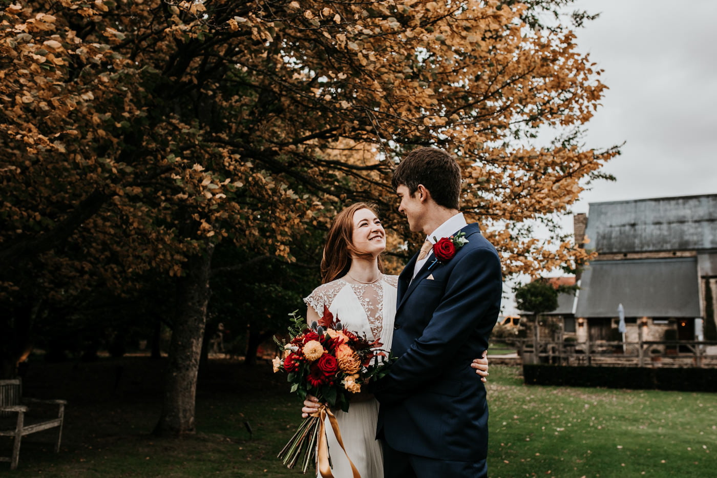 Amelia and Dave, Cripps Barn, Cotswolds 12