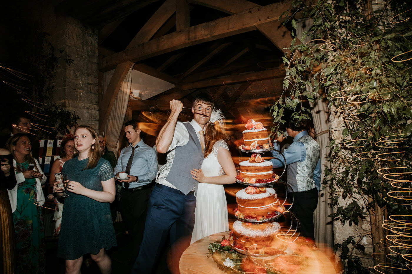 Amelia and Dave, Cripps Barn, Cotswolds 5