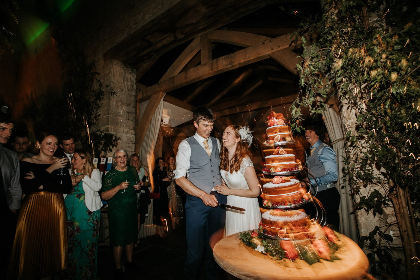 Amelia and Dave, Cripps Barn, Cotswolds 30