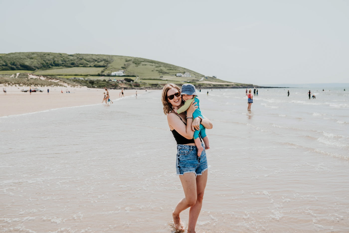 croyde beach devon lifestyle photoshoot