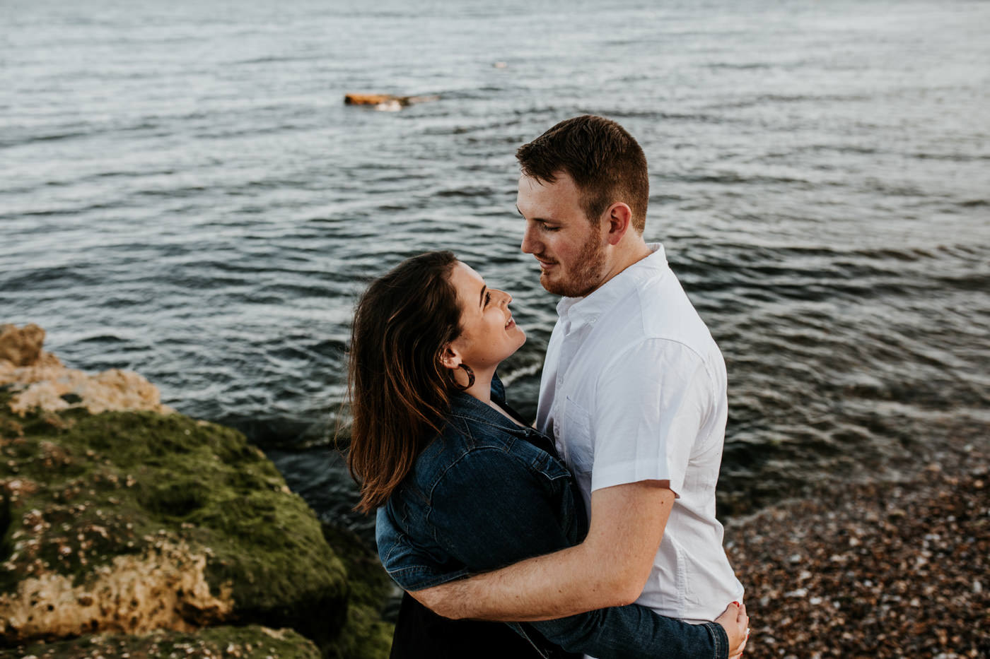 Sophie and George, Beer Beach Engagement Shoot 10