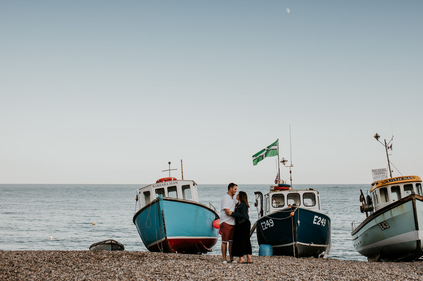 Sophie and George, Beer Beach Engagement Shoot 8