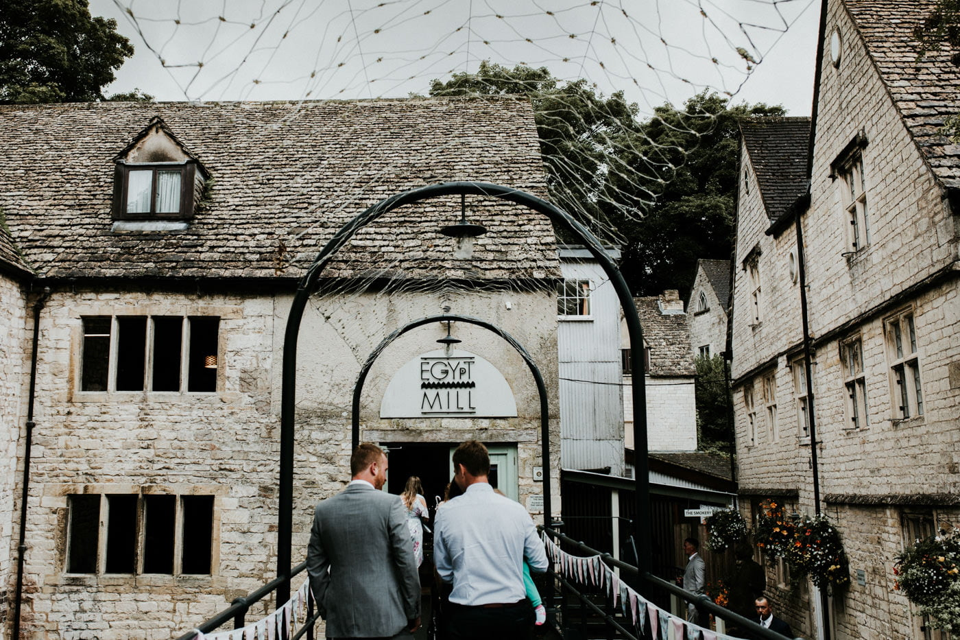 Jen and Shaun, Egypt Mill, Gloucestershire 3