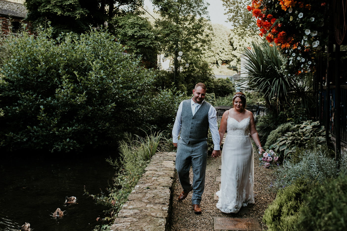 Jen and Shaun, Egypt Mill, Gloucestershire 5