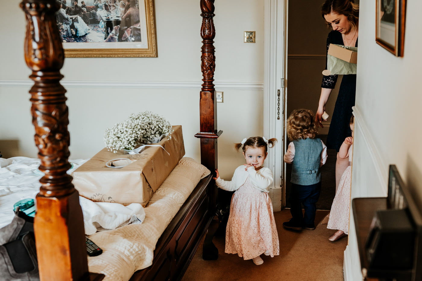 Maisie and Jack, Hatton Court, Gloucestershire 5