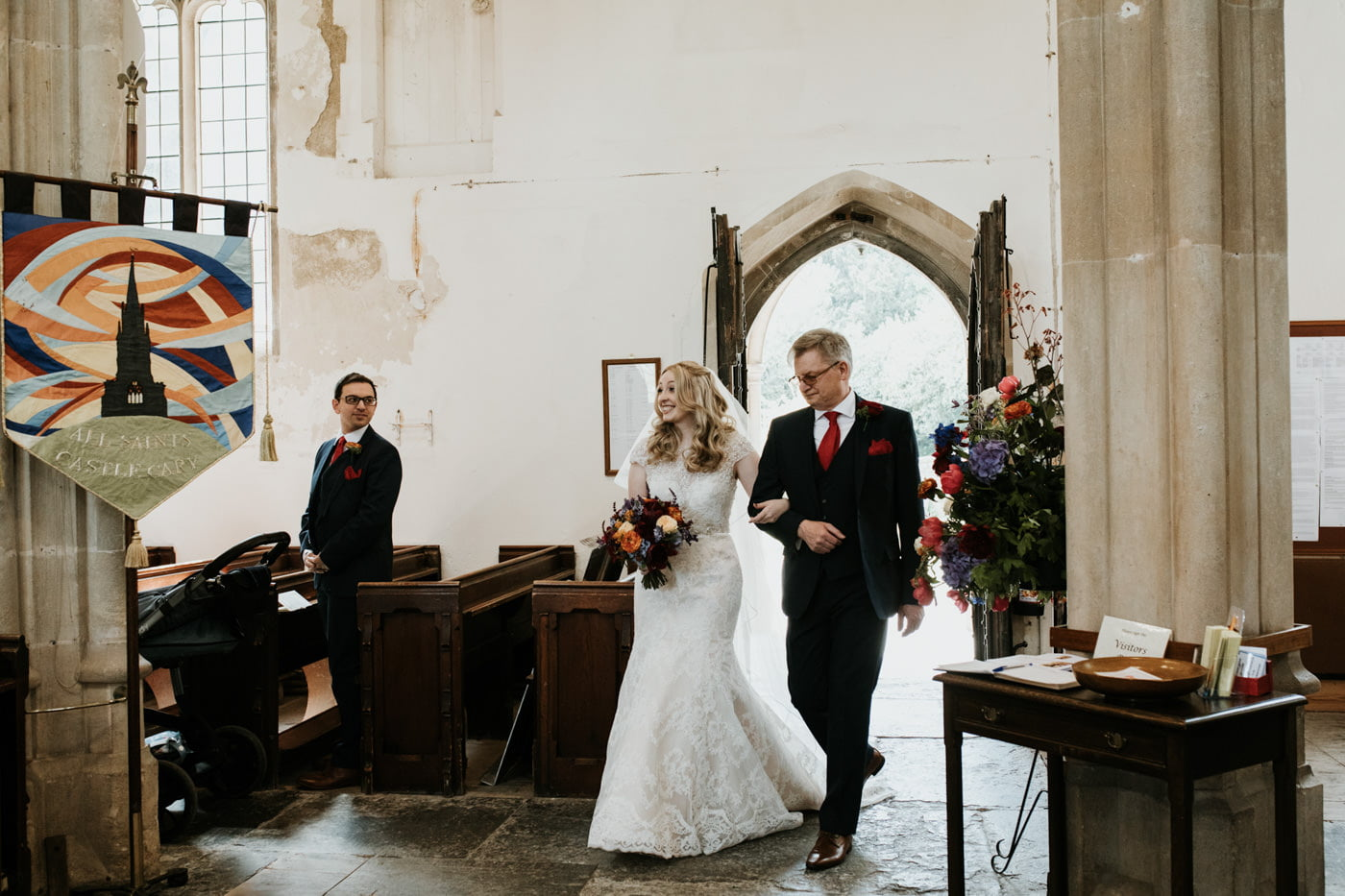 Sarah and Joe, Haselbury Mill, Somerset 15