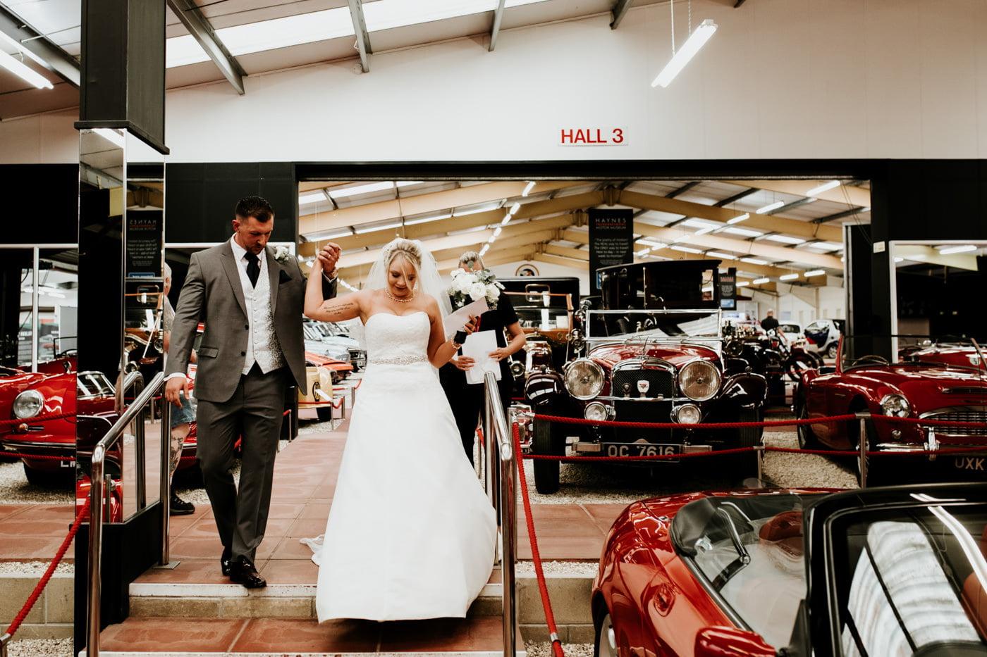 Sherri and Ollie, Haynes Motor Museum, Somerset 33