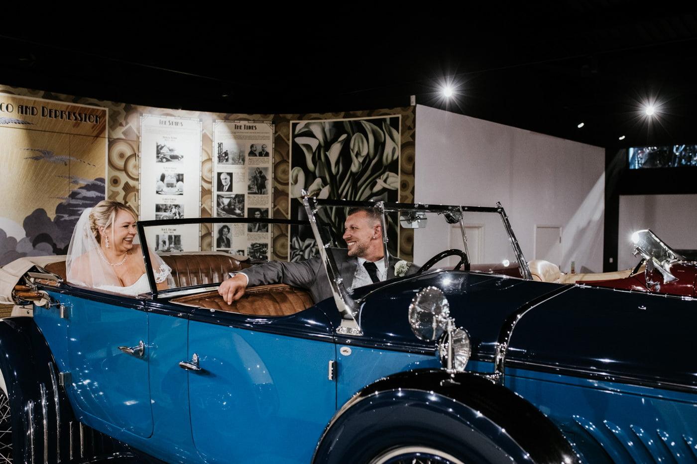 Sherri and Ollie, Haynes Motor Museum, Somerset 83