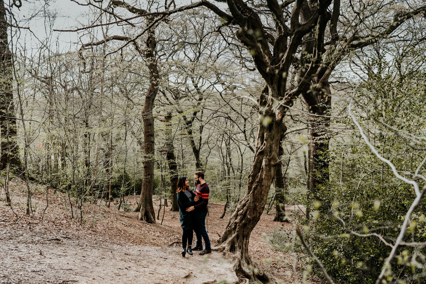 Amber & Dave, Highgate London Engagement Shoot 2