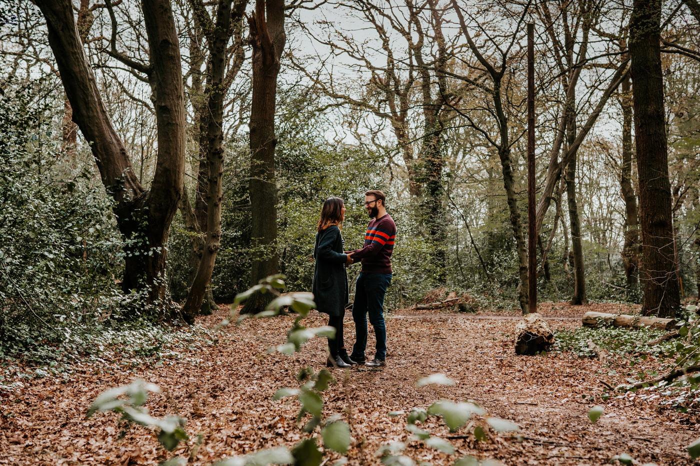 Amber & Dave, Highgate London Engagement Shoot 1