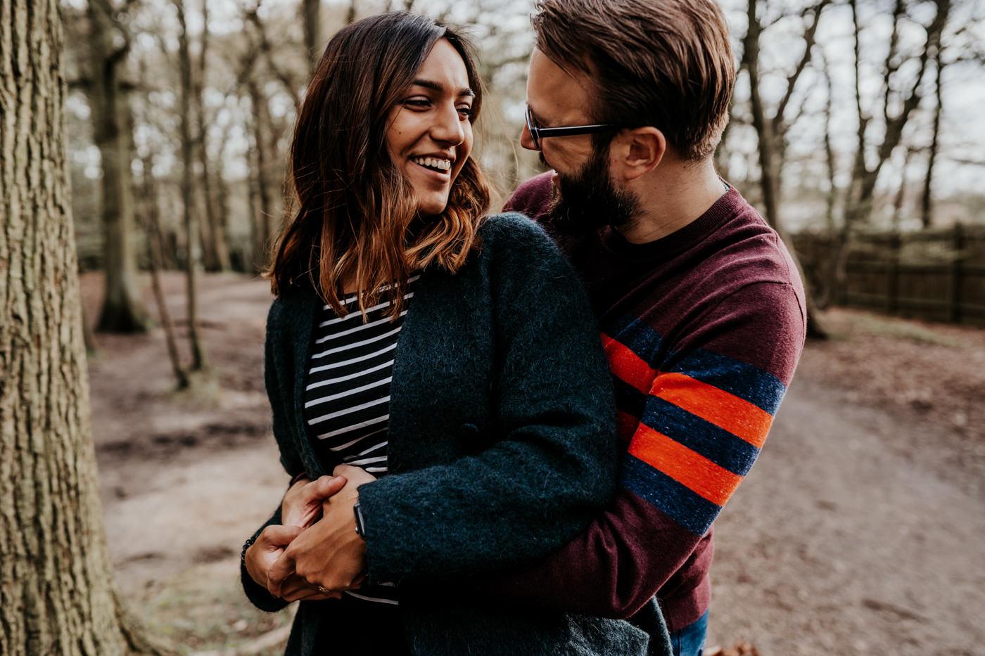 Amber & Dave, Highgate London Engagement Shoot 9
