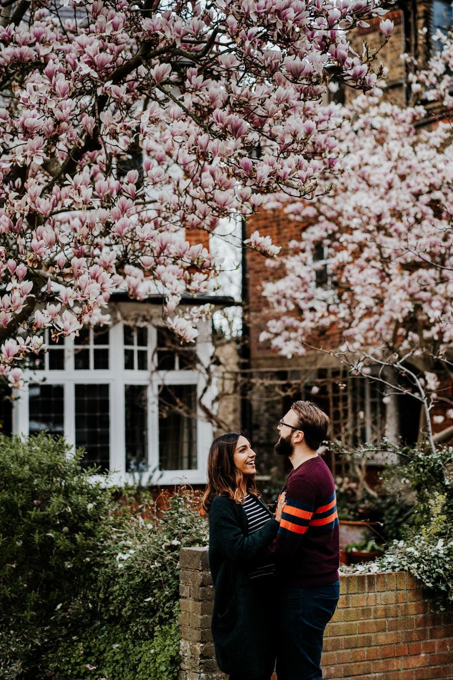 Amber & Dave, Highgate London Engagement Shoot 16