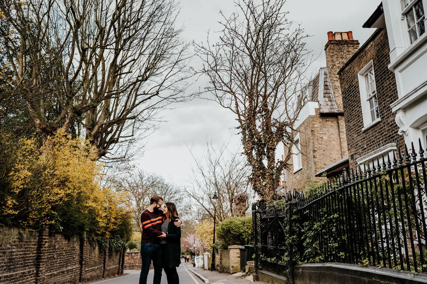 Amber & Dave, Highgate London Engagement Shoot 20