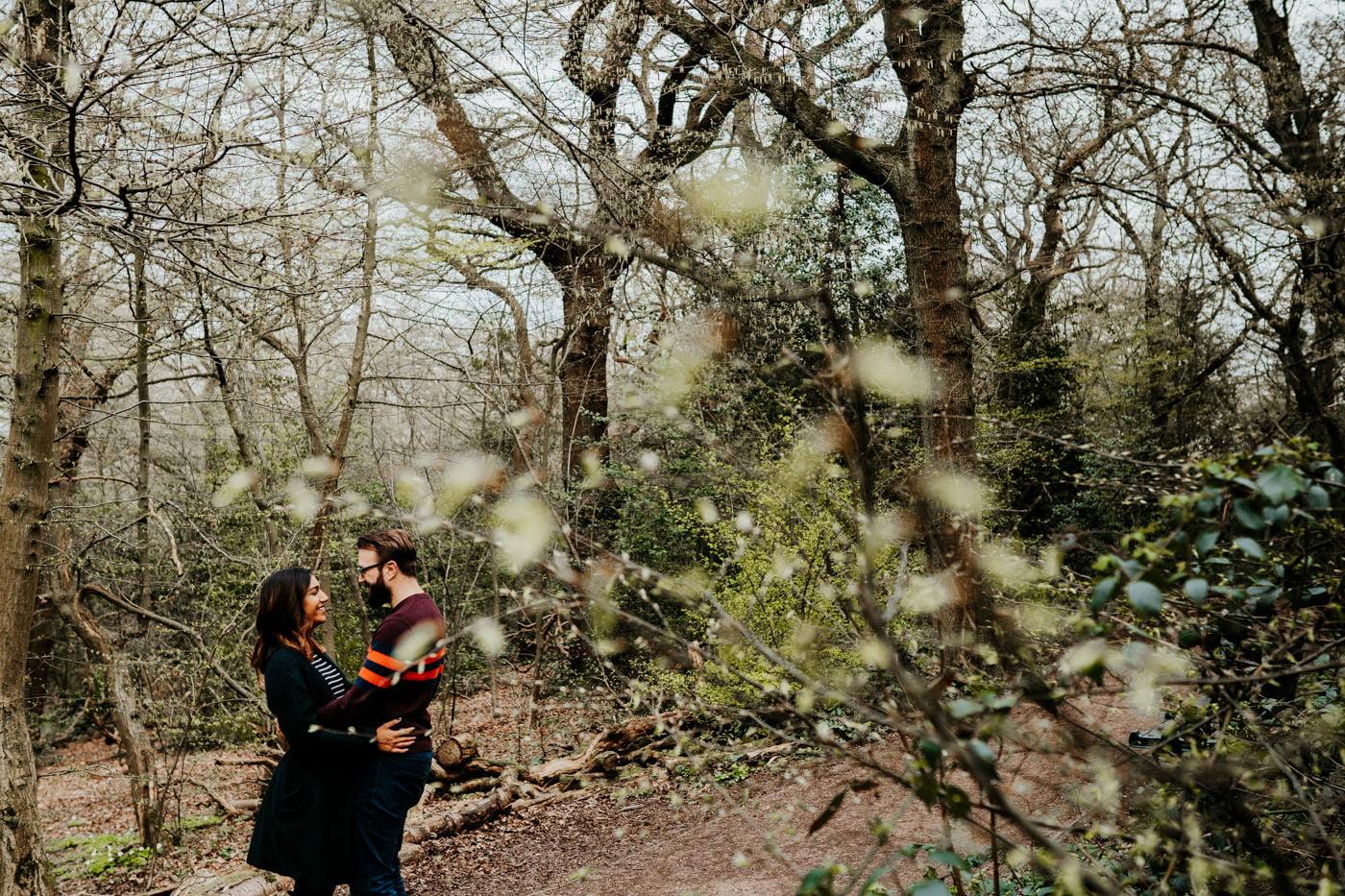 Amber & Dave, Highgate London Engagement Shoot 21