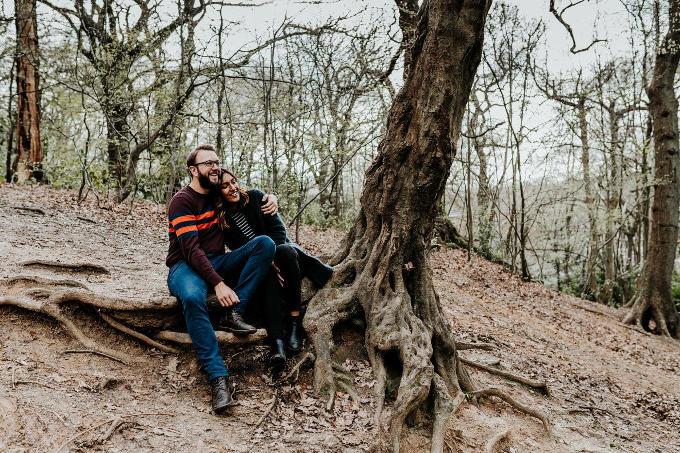 Amber & Dave, Highgate London Engagement Shoot 10