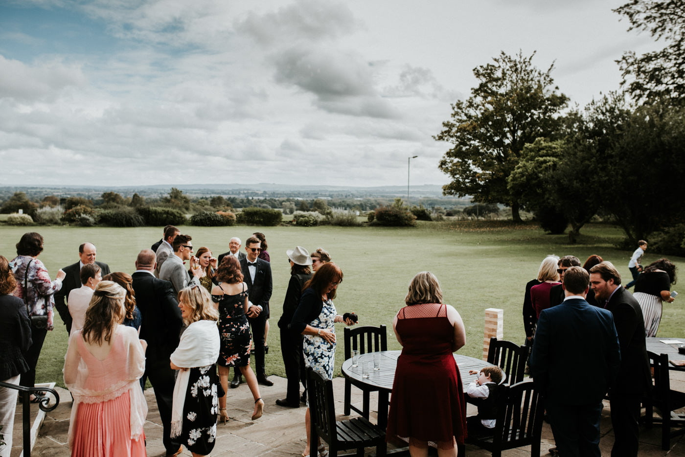 Holly and George, Leigh Park Hotel, Wiltshire 40