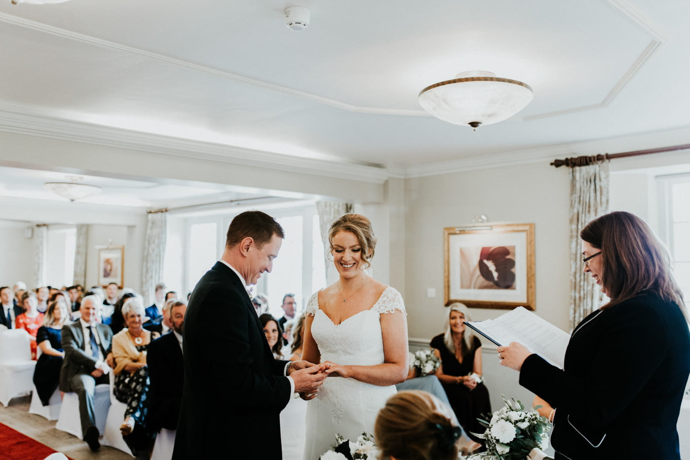 Holly and George, Leigh Park Hotel, Wiltshire 16