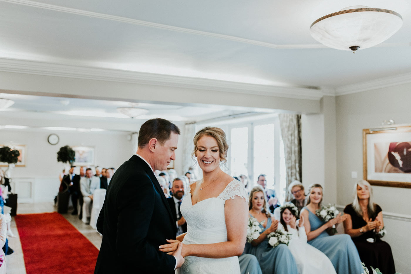 Holly and George, Leigh Park Hotel, Wiltshire 65