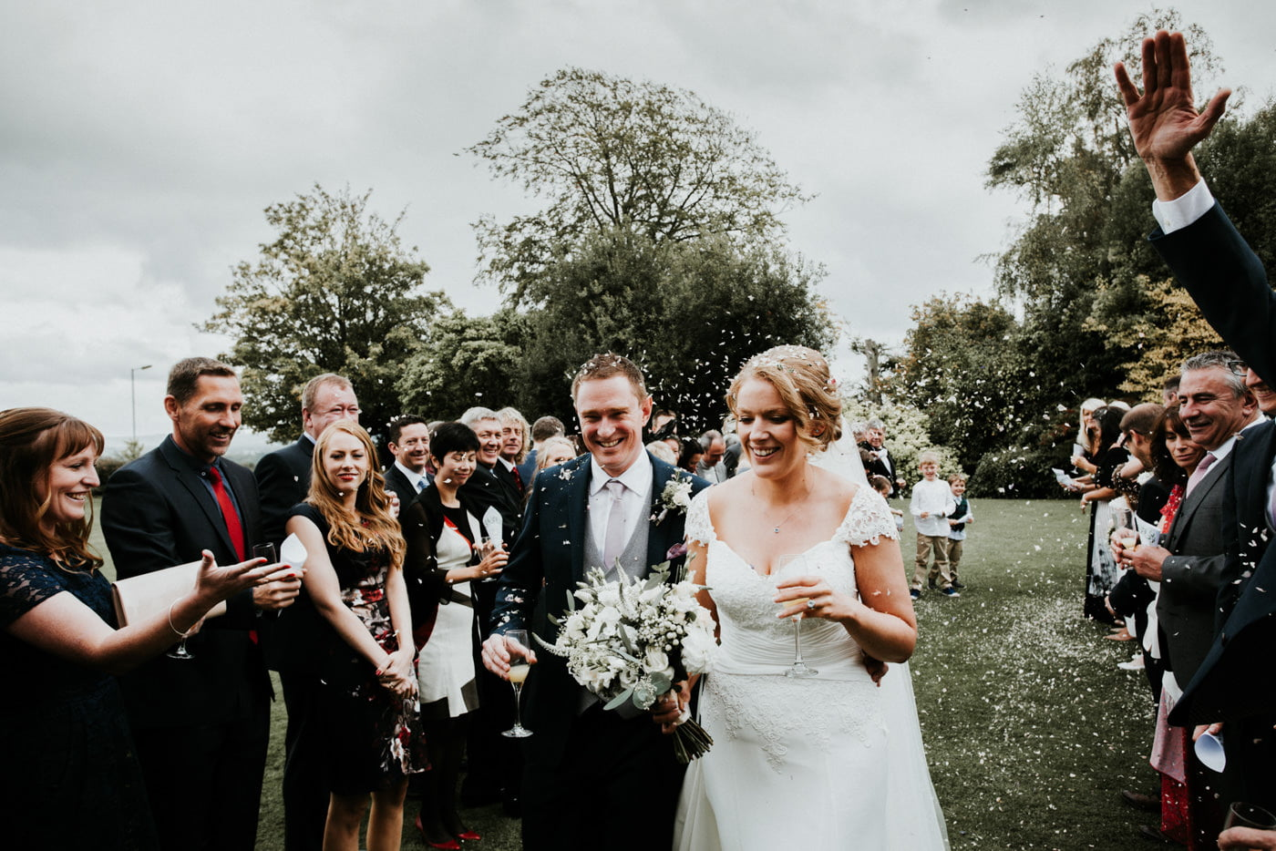 Holly and George, Leigh Park Hotel, Wiltshire 3