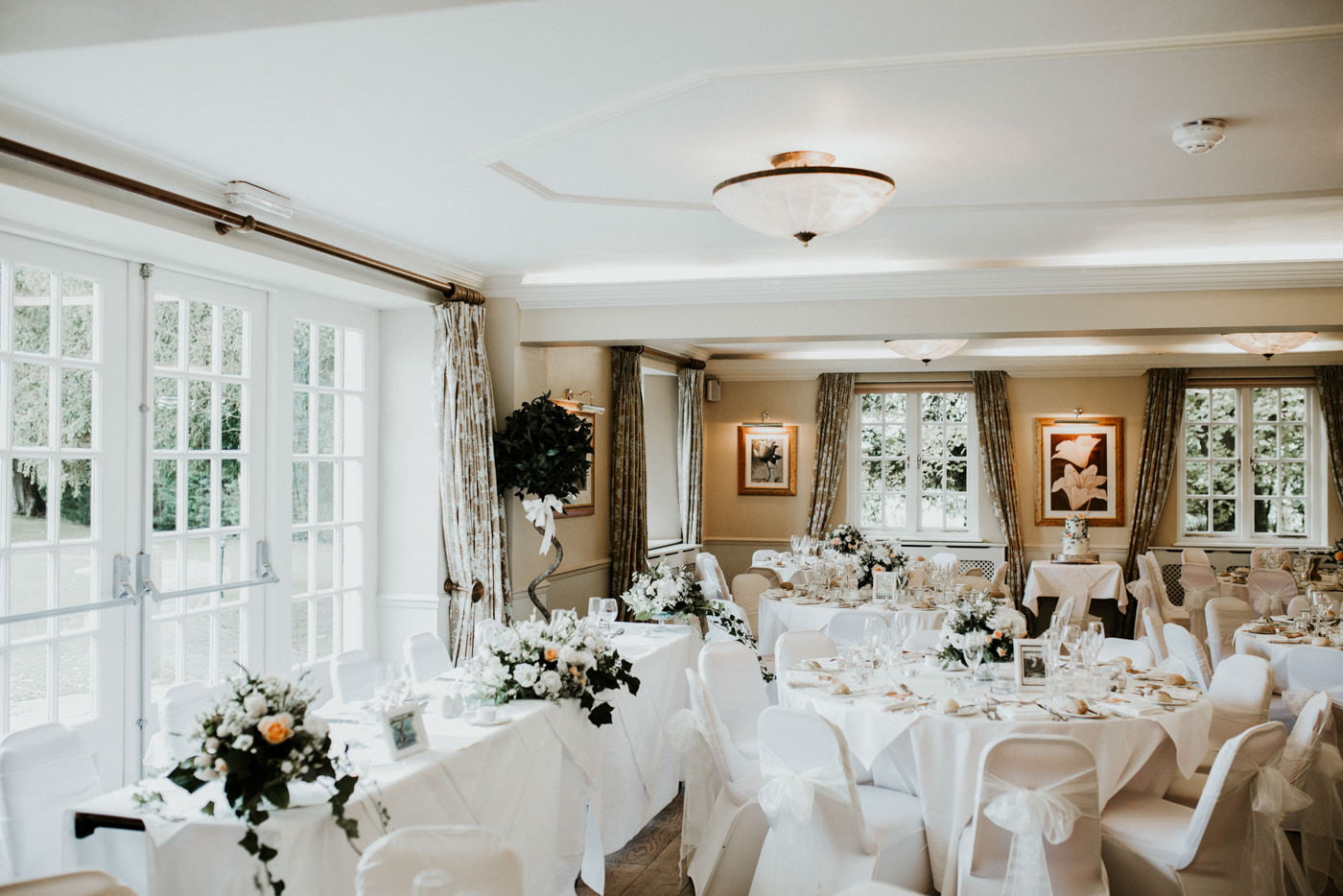 Holly and George, Leigh Park Hotel, Wiltshire 21