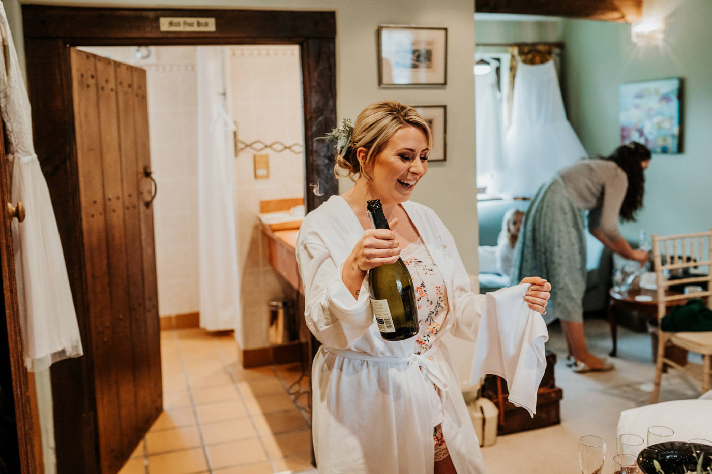 Emily and Rich, Moonraker Hotel, Wiltshire 45