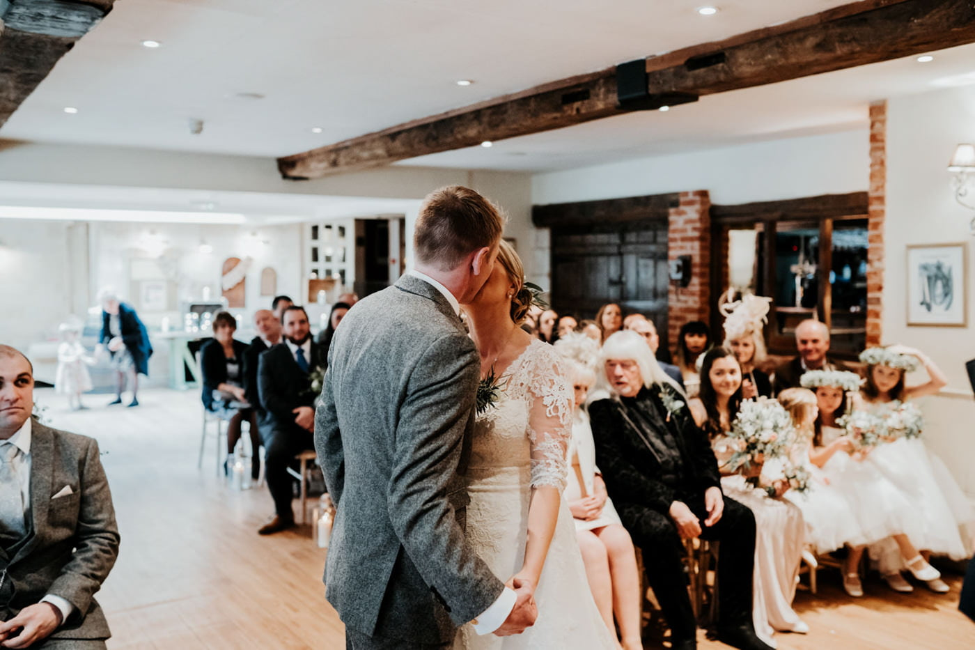 Emily and Rich, Moonraker Hotel, Wiltshire 66