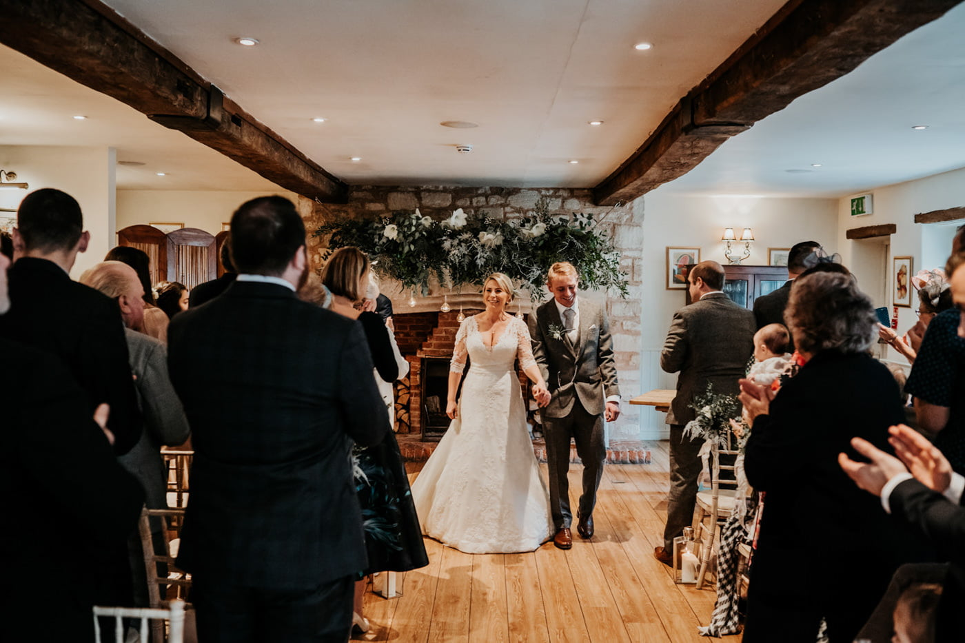 Emily and Rich, Moonraker Hotel, Wiltshire 33