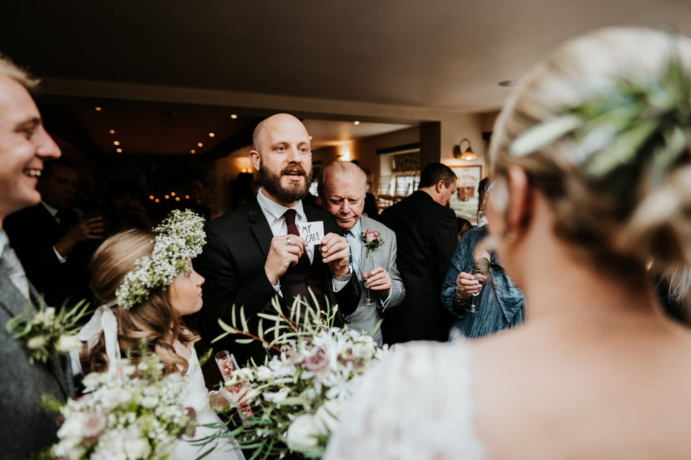 Emily and Rich, Moonraker Hotel, Wiltshire 5