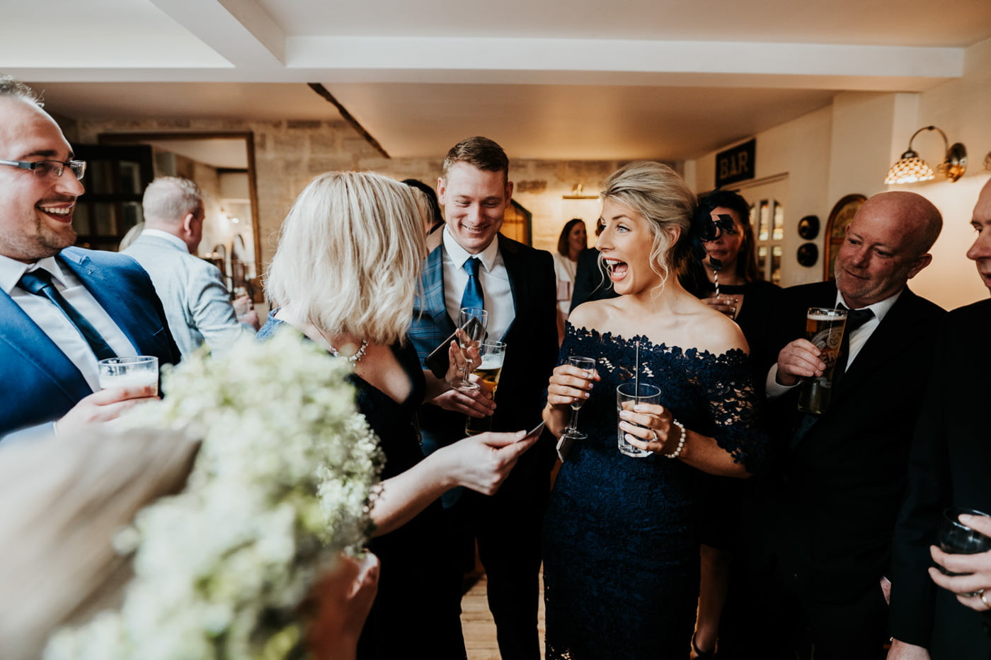 Emily and Rich, Moonraker Hotel, Wiltshire 59