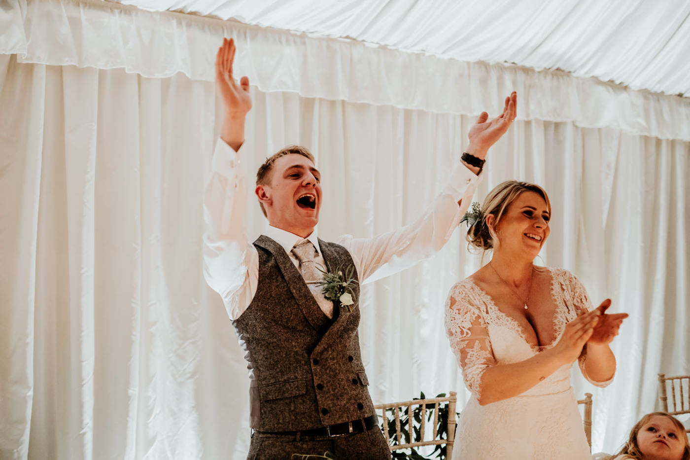 Emily and Rich, Moonraker Hotel, Wiltshire 29