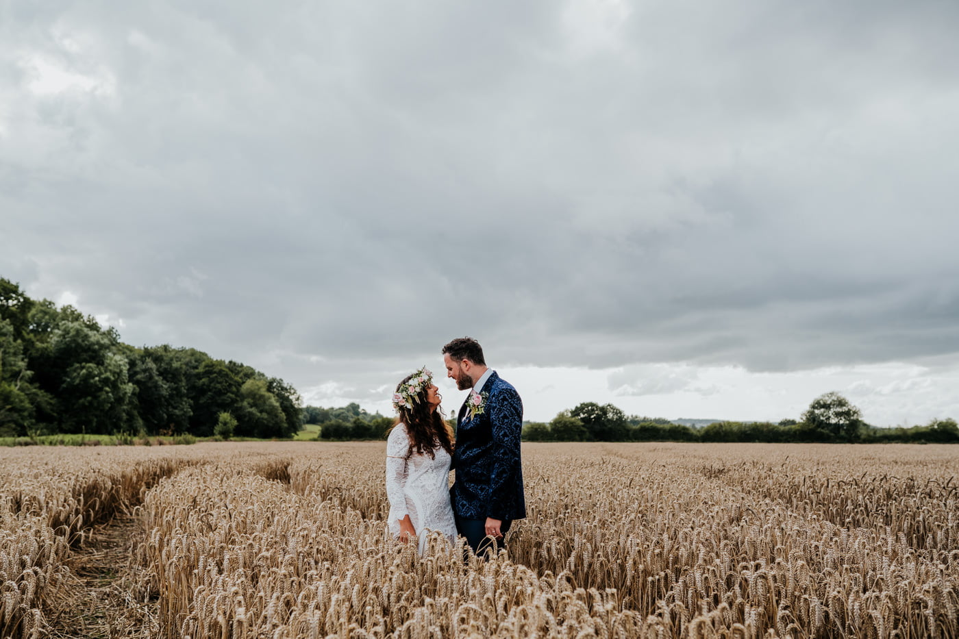 old summer dairy wedding