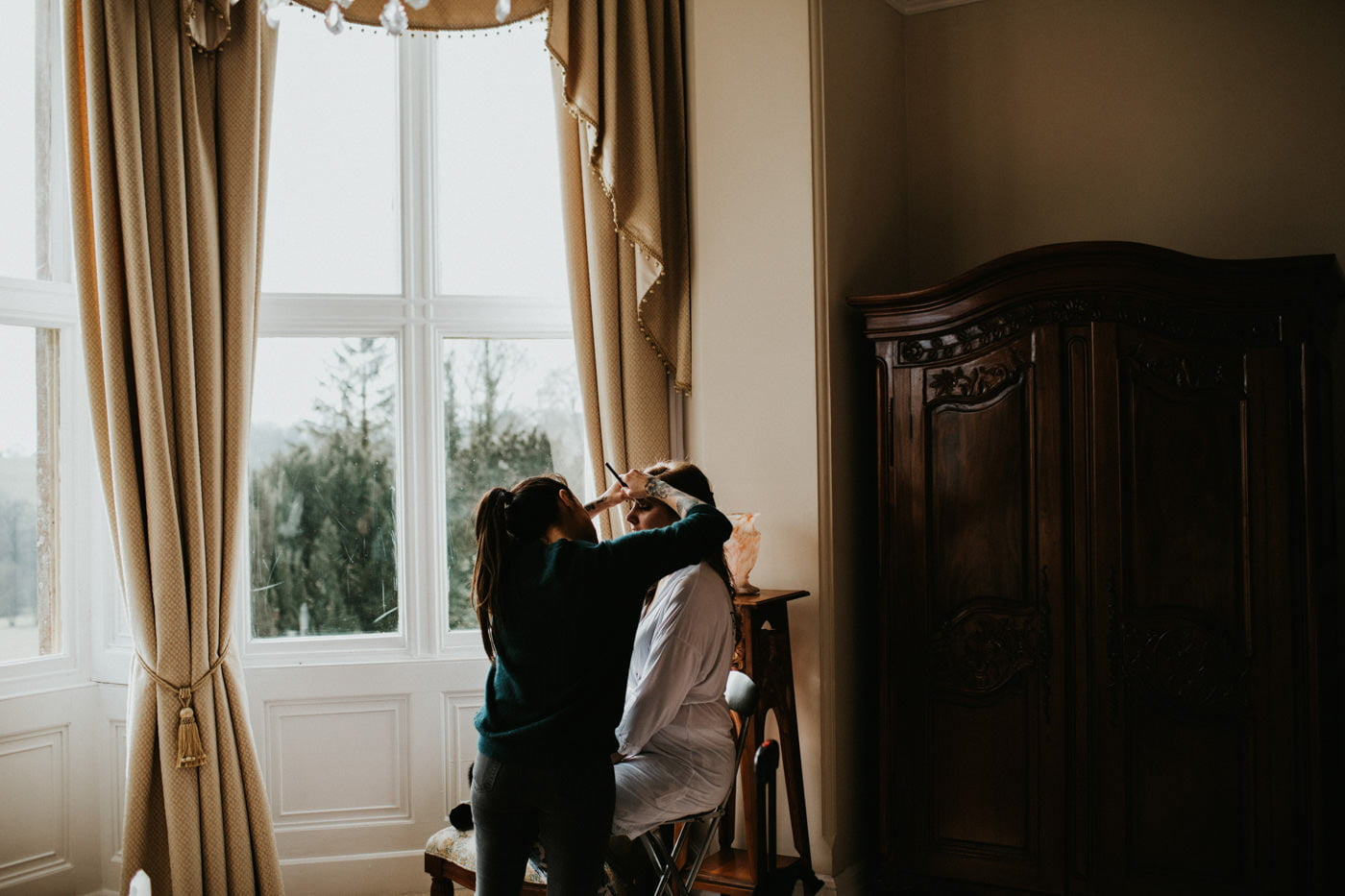 Chloe and Lewis, Orchardleigh House, Somerset 26