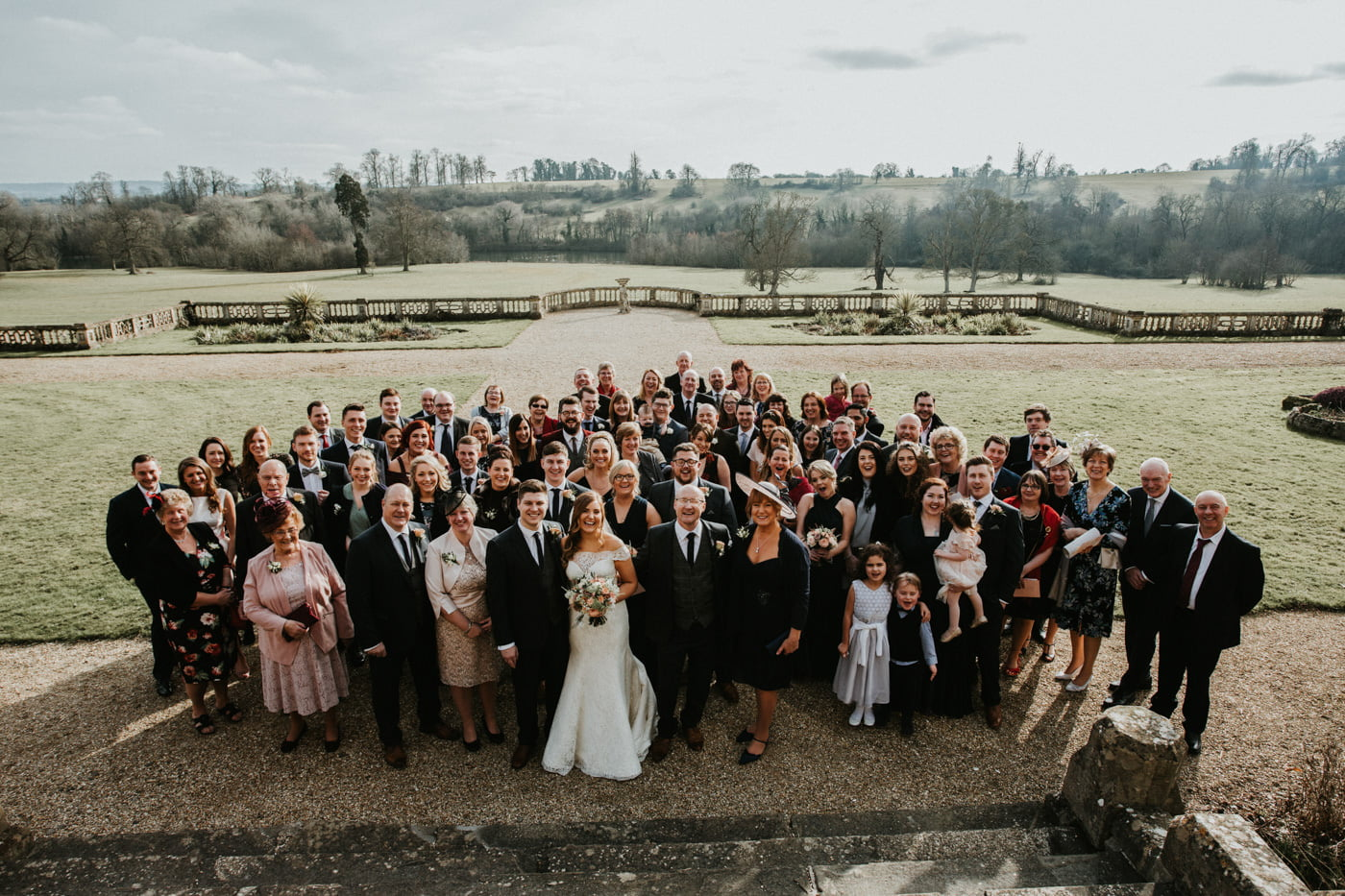 Chloe and Lewis, Orchardleigh House, Somerset 52