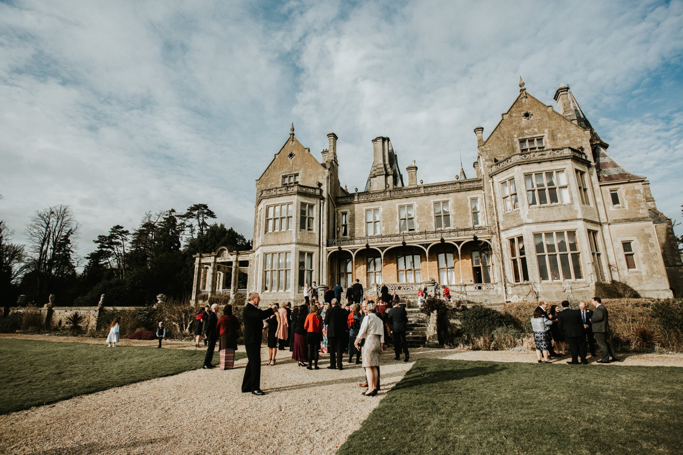 Chloe and Lewis, Orchardleigh House, Somerset 15