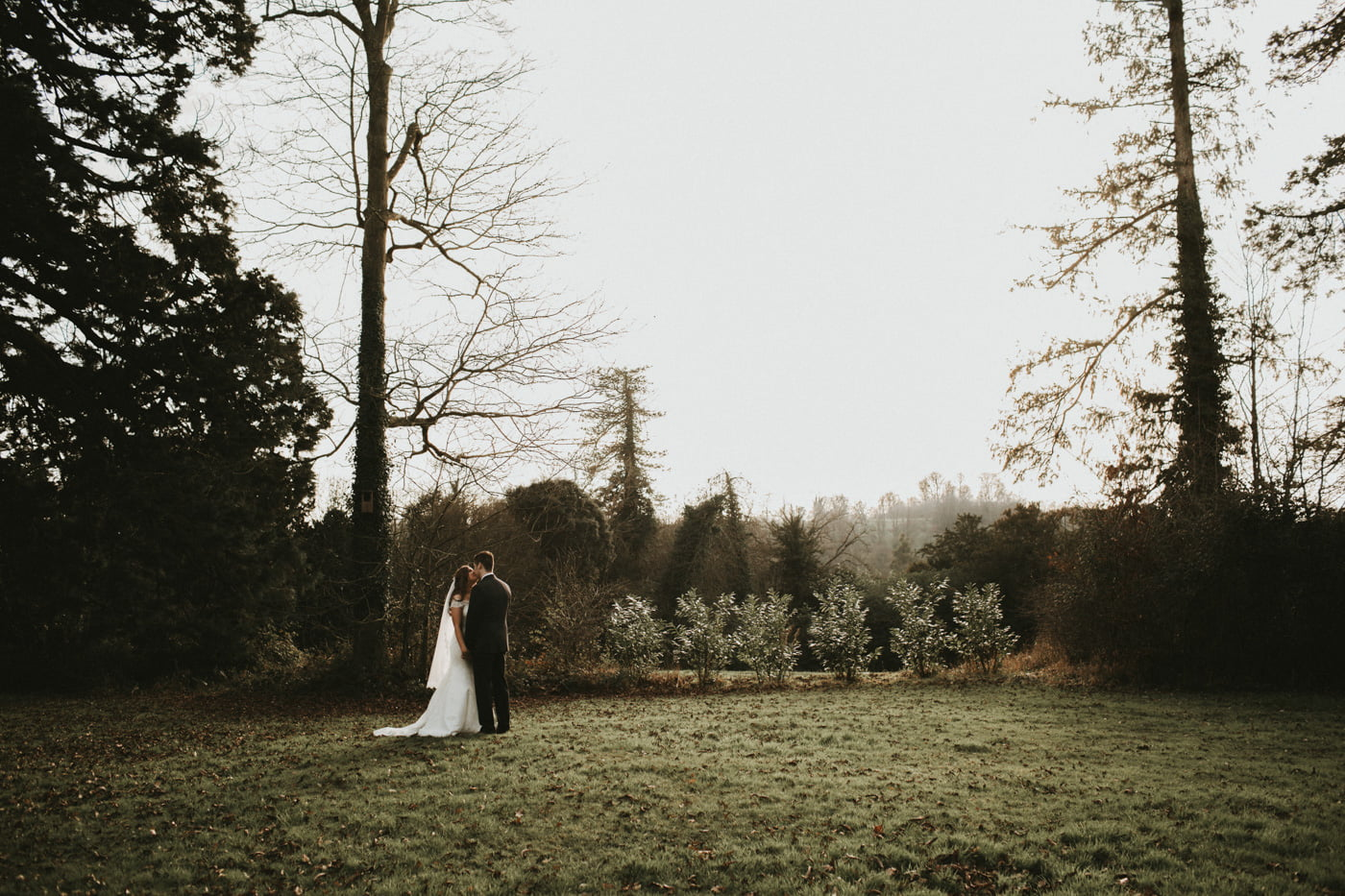 Chloe and Lewis, Orchardleigh House, Somerset 1