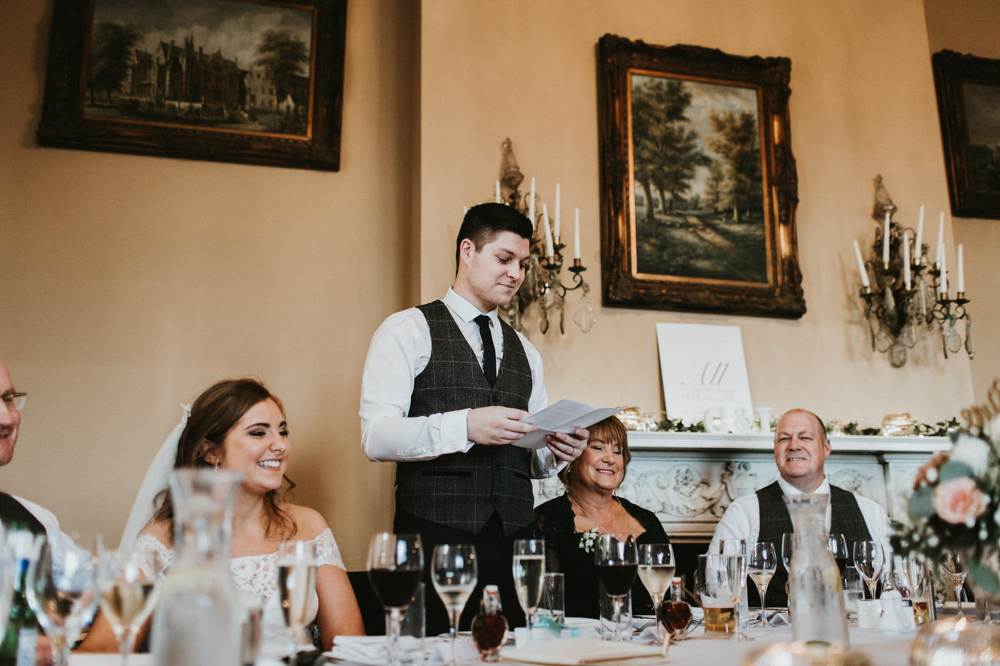 Chloe and Lewis, Orchardleigh House, Somerset 4