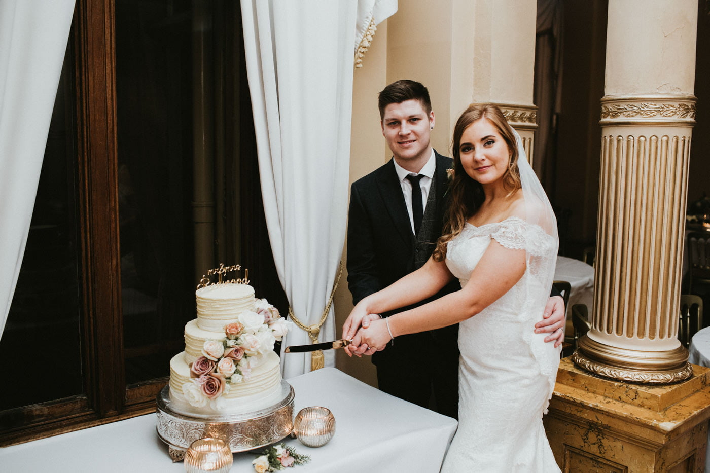 Chloe and Lewis, Orchardleigh House, Somerset 2