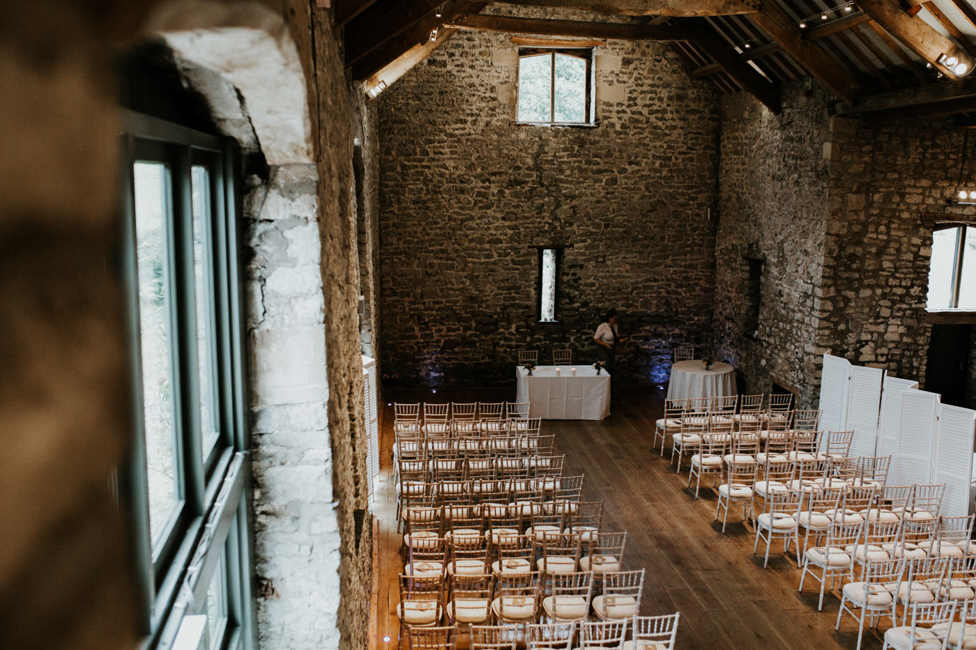 Hannah and Mark, Priston Mill Tythe Barn, Bath 95