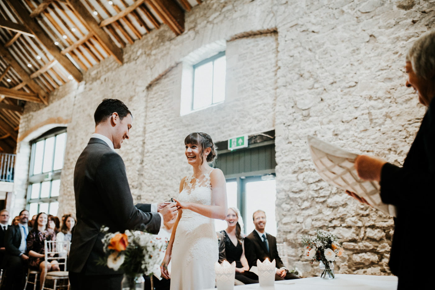 Hannah and Mark, Priston Mill Tythe Barn, Bath 20
