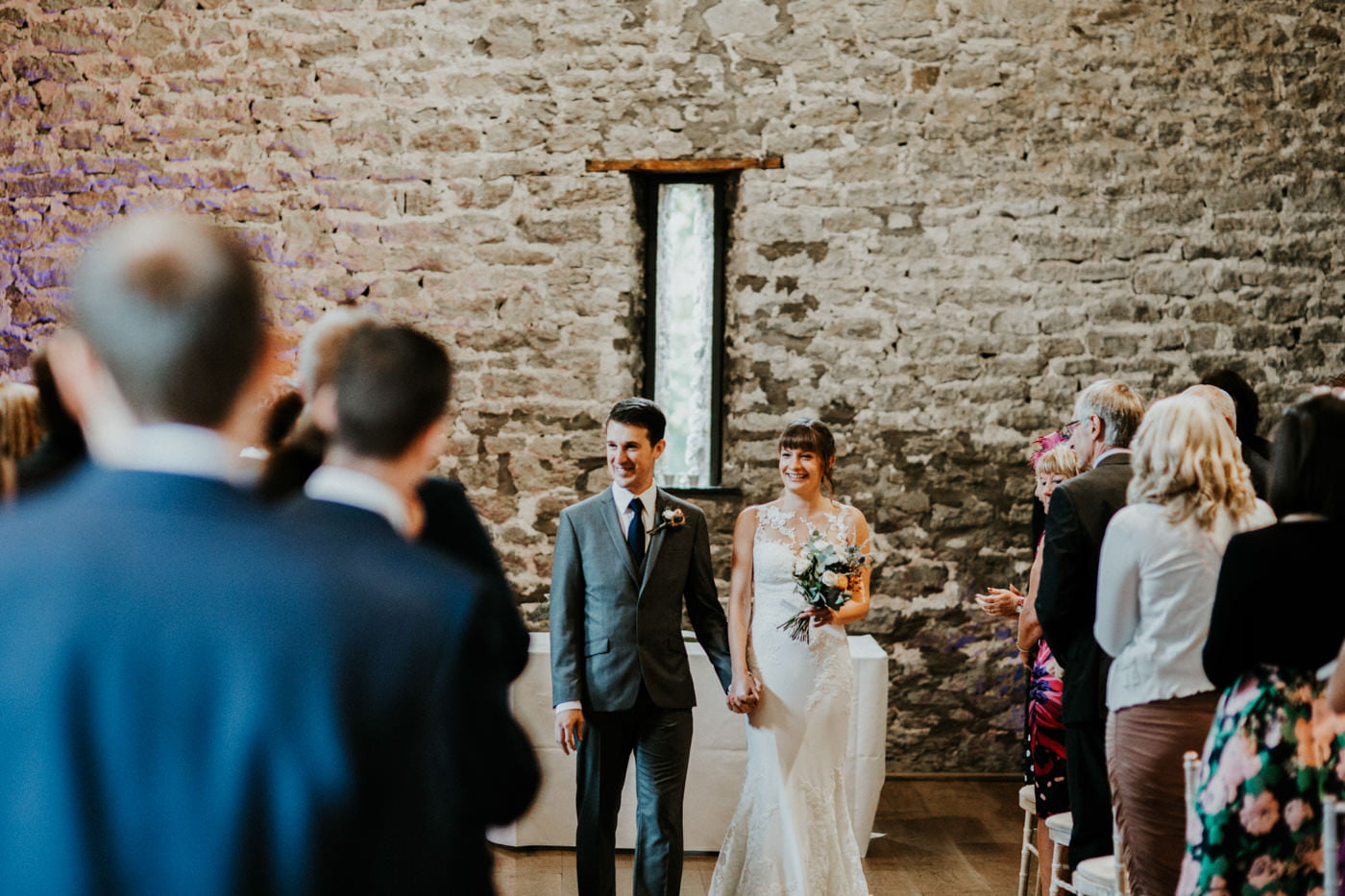 Hannah and Mark, Priston Mill Tythe Barn, Bath 2