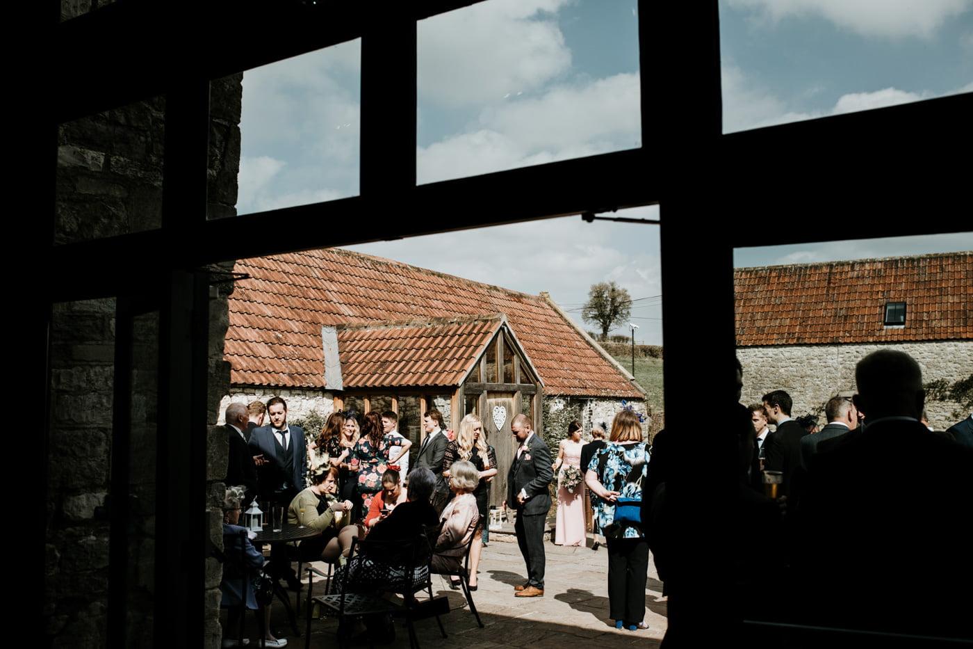 Lana and Tony, Priston Mill The Barn, Bath 40