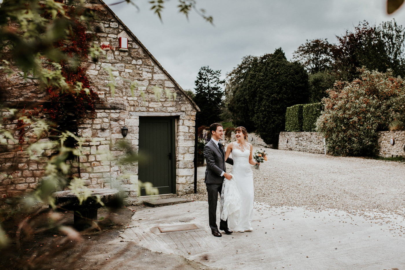 Hannah and Mark, Priston Mill Tythe Barn, Bath 11
